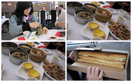 Food I missed out on - Dimsum & Corica's apple strudel *teary eyes