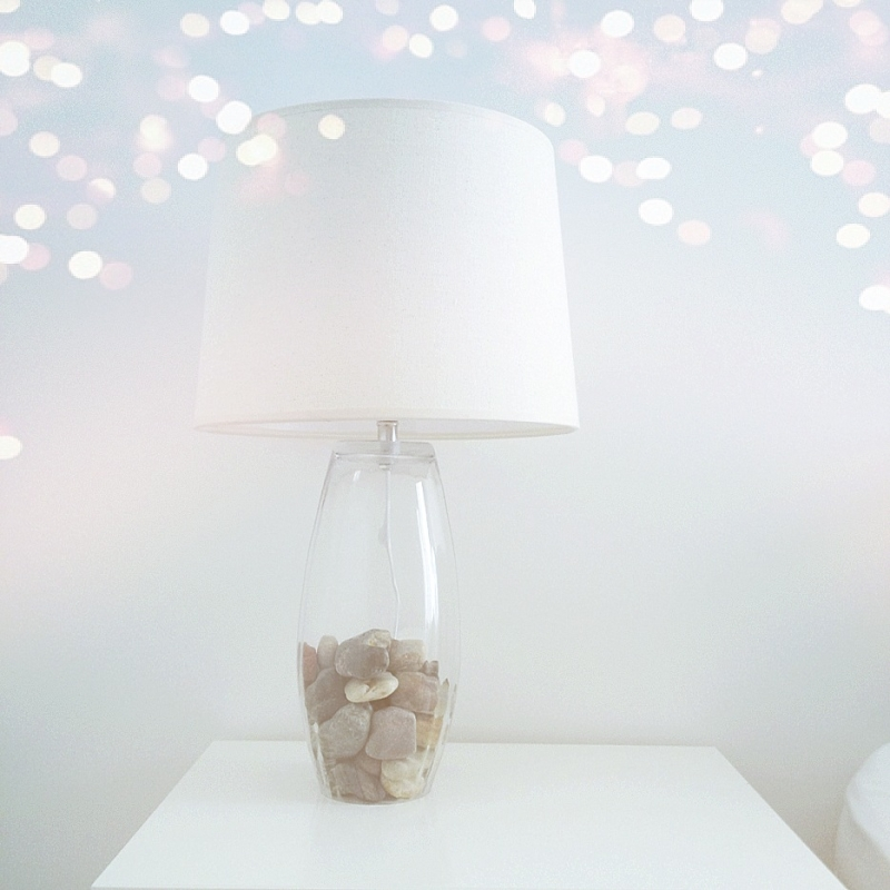 A Twist to Our Glass Base Table Lamp